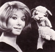 Sherrie Lewis and Lamb Chop