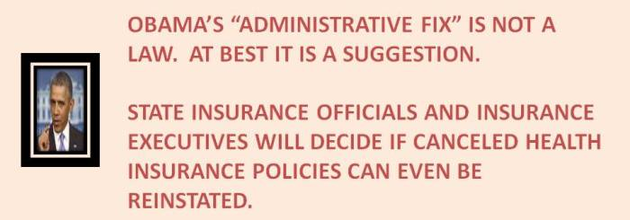 Administrative Fix