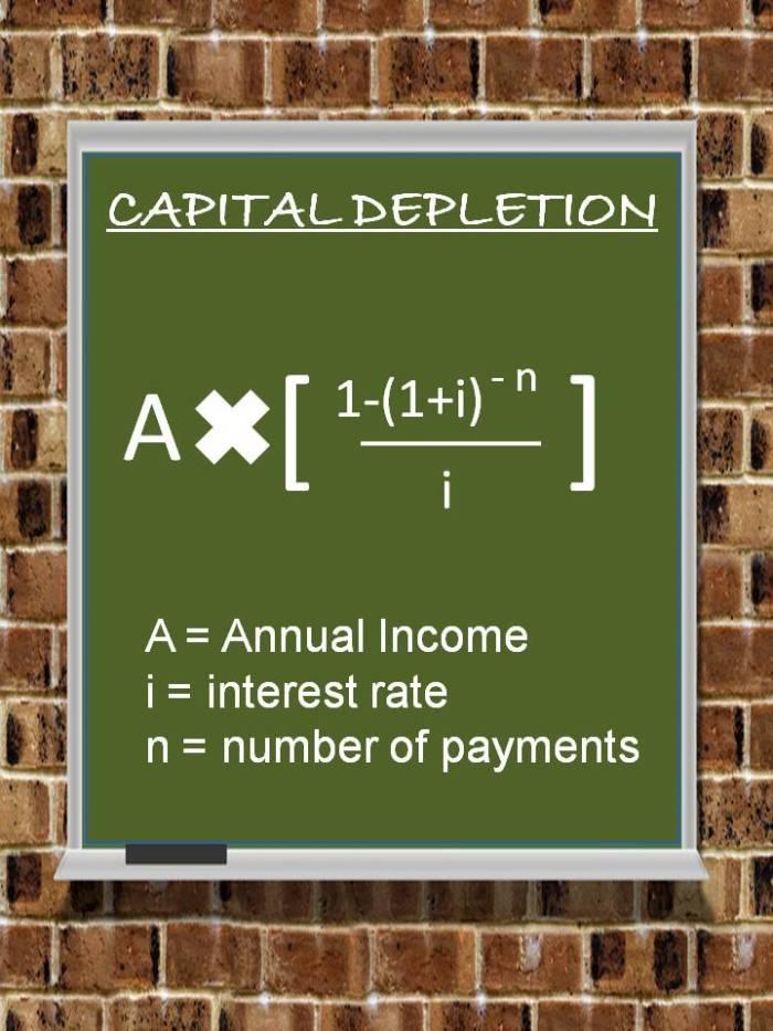 Capital Depletion