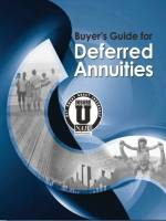 "Free E-Book - ""Buyer's Guide for Deferred Annuities"